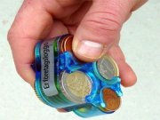 Monnibox för euro
